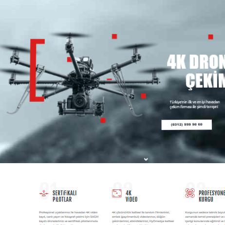 Fly Omedya drone kiralama